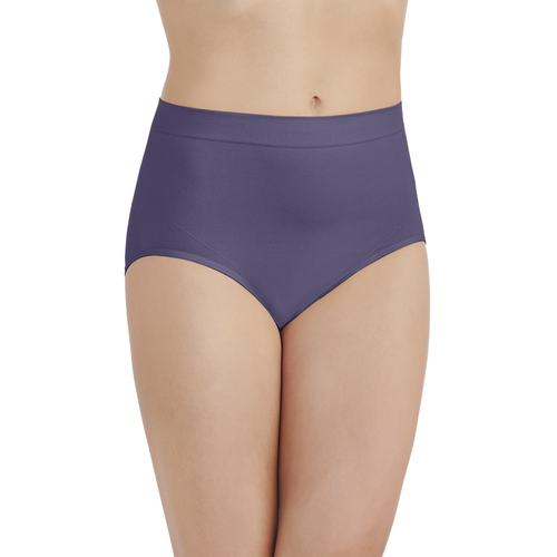 Smoothing Comfort Seamless Brief Blue Charcoal