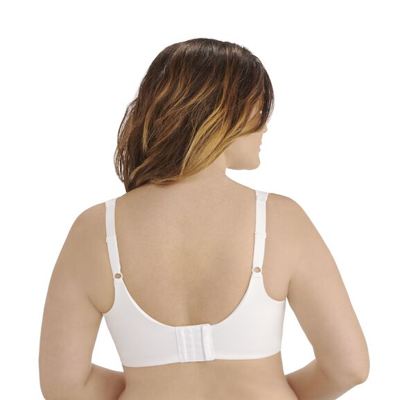 Flattering Lift All Over Lace Full Figure Underwire Star White