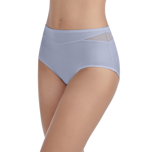 Breathable Luxe Brief Panty Blue Whisper