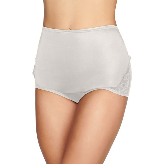 Perfectly Yours Lace Nouveau Full Brief Panty Star White