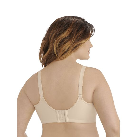 Full Figure Sport Bra Damask Neutral