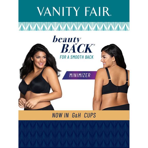 Beauty Back Full Figure Underwire Minimizer Clear Water