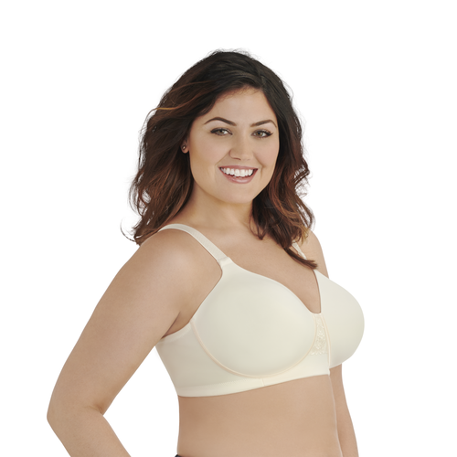 Beauty Back® Full Figure Wirefree Bra Ivory