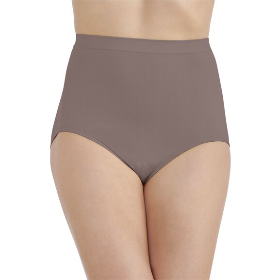 Perfectly Yours Seamless Tailored Full Brief Panty Walnut