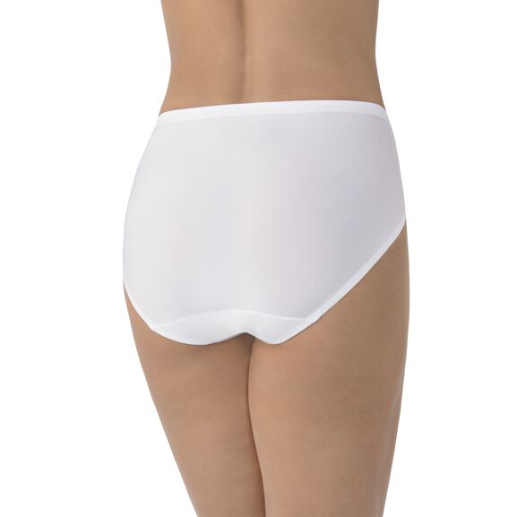 Cooling Touch Hi-Cut Panty Star White