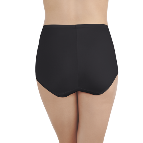 Smoothing Comfort Lace Brief Midnight Black