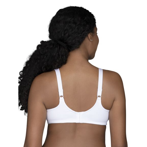 Beauty Back Full Figure Underwire Minimizer Star White