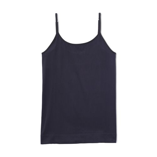 Seamless Tailored Camisole Midnight Black
