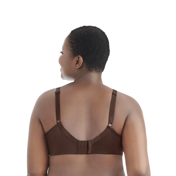 Nearly Invisible Full Figure Wirefree Bra CAPPUCCINO