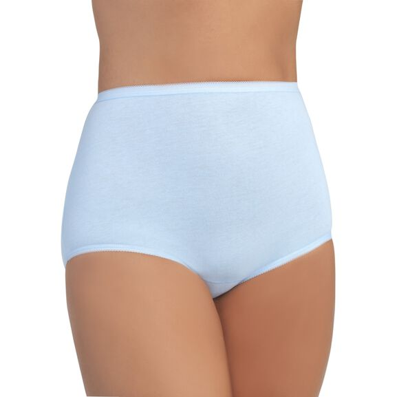Perfectly Yours Tailored Cotton Full Brief Panty Sachet Blue