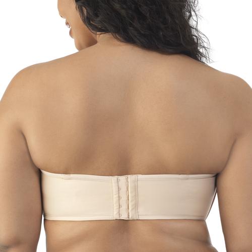 Beauty Back® Strapless Full Figure Underwire Bra Rose Beige