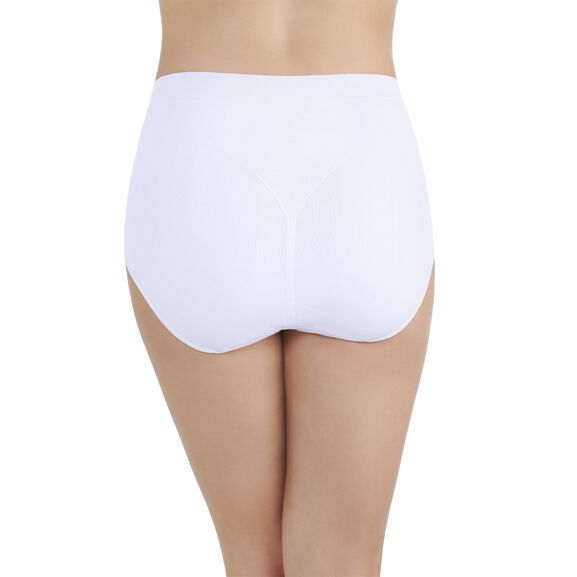 Smoothing Comfort™ Seamless Brief Panty Star White
