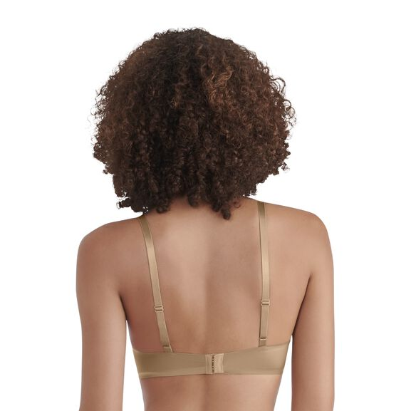 Nearly Invisible Full Coverage Underwire Bra TOTALLY TAN