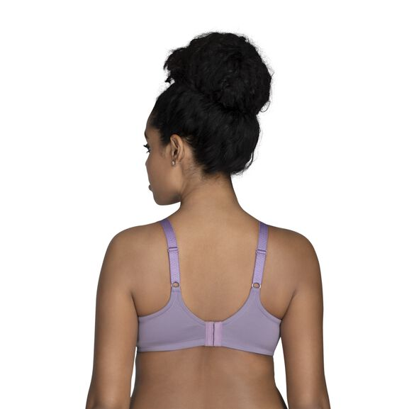 Beauty Back Full Figure Underwire Smoothing Bra Dusty Mauve Lace