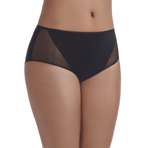 Breathable Luxe Hipster Panty MIDNIGHT BLACK
