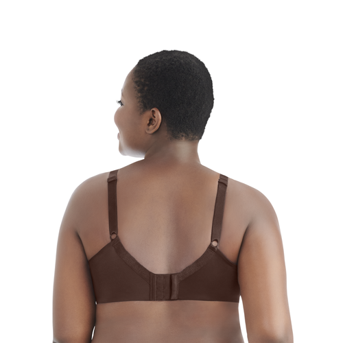 Nearly Invisible™ Full Figure Wirefree Bra CAPPUCCINO
