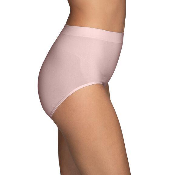 Smoothing Comfort™ Seamless Brief Panty Sheer Quartz
