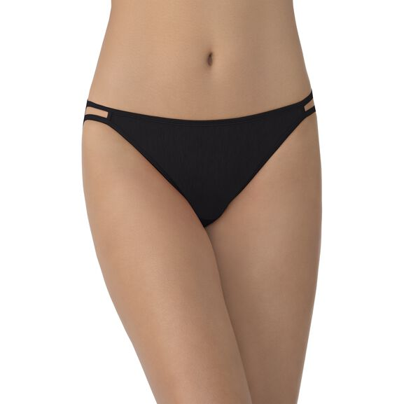 Illumination String Bikini Panty Midnight Black