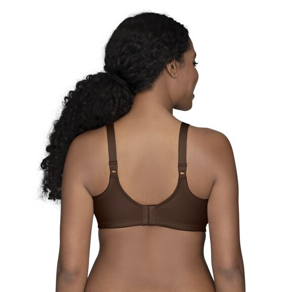 Beauty Back Full Figure Wirefree Smoothing Bra Cappucino