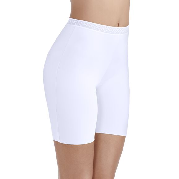 Sleek and Smooth Slip Short STAR WHITE