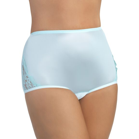 Perfectly Yours Lace Nouveau Full Brief Panty Azure Mist
