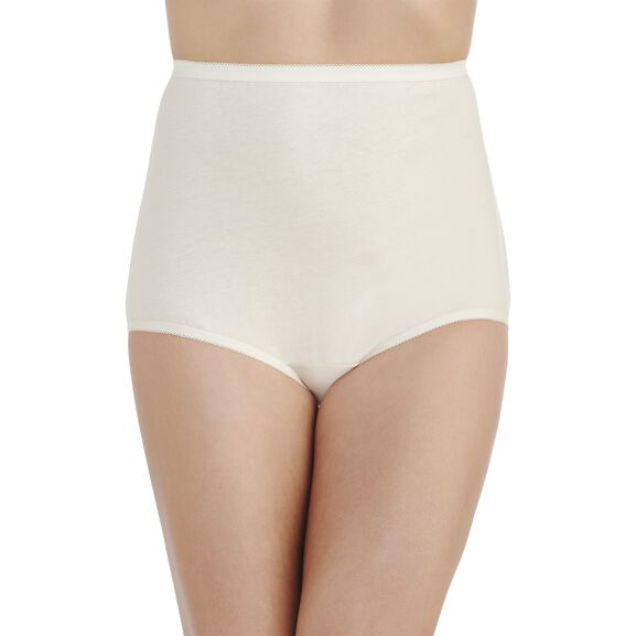 Perfectly Yours® Tailored Cotton Full Brief Panty Fawn
