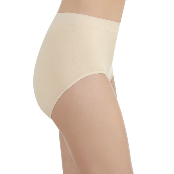 Smoothing Comfort Seamless Brief Panty Damask Neutral