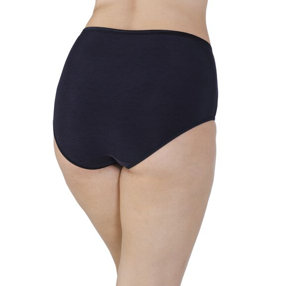 Illumination Plus Size Brief Midnight Black