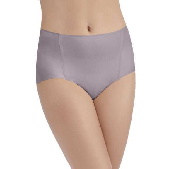 Nearly Invisible™ Brief Panty EARTHY GREY
