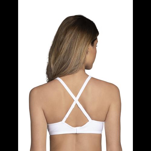 Body Caress™ Full Coverage Underwire Star White