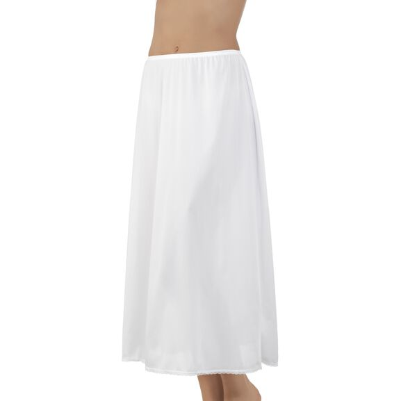 Everyday Layers Traditional Half Slip Star White
