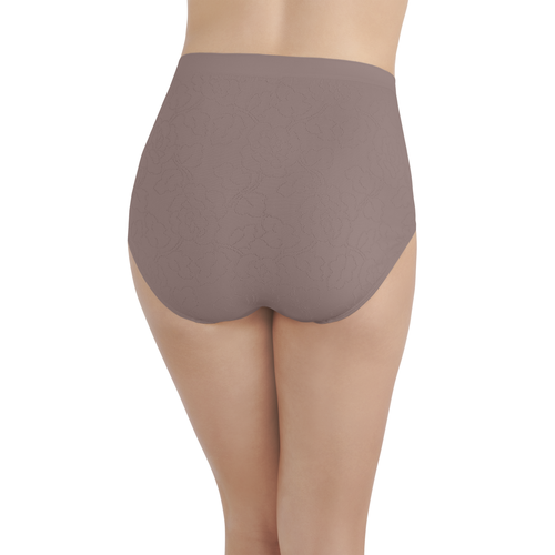 Perfectly Yours® Seamless Jacquard Brief Walnut