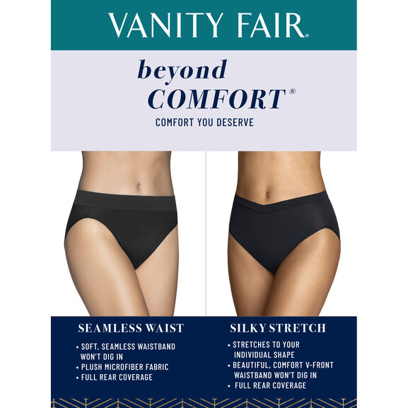 Beyond Comfort Silky Stretch Brief Midnight Black