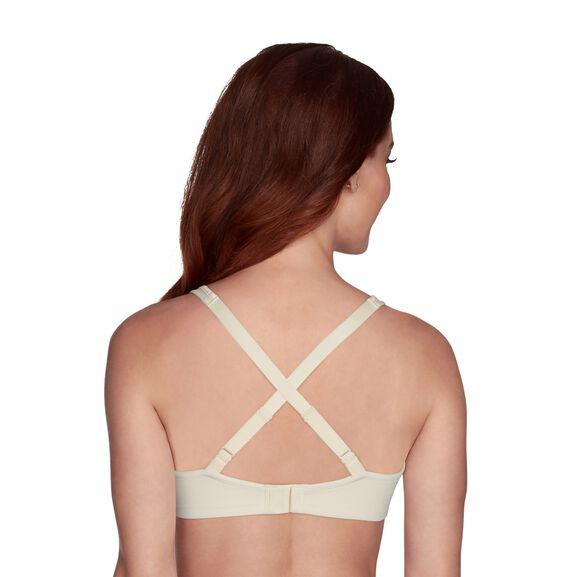 Body Caress Full Coverage Wirefree Bra Ivory