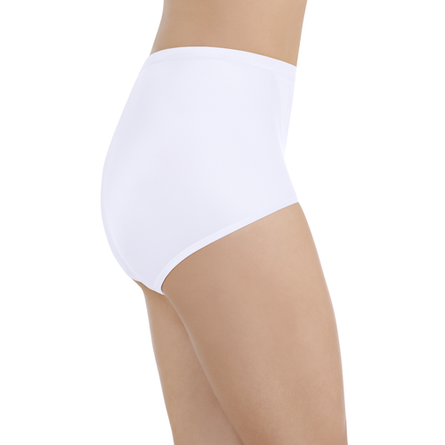 Smoothing Comfort Brief Star White