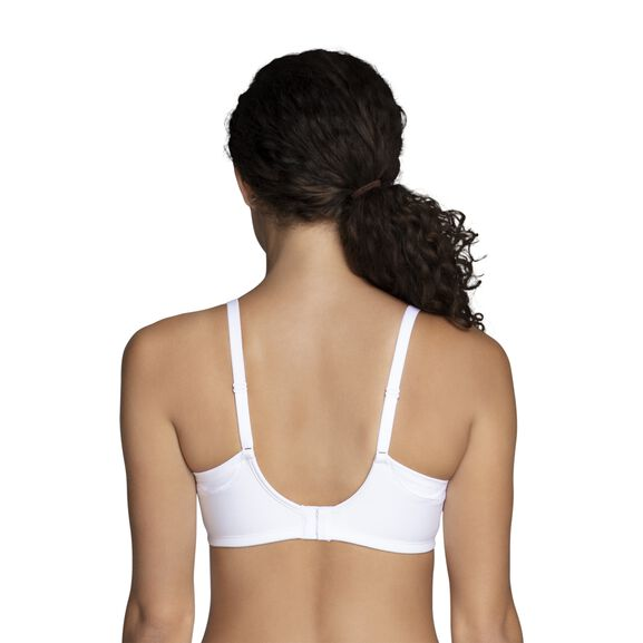 Beauty Back® Full Coverage Wirefree Extended Side and Back Smoother Bra Star White