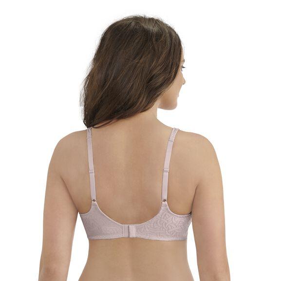 Body Shine Full Coverage Wirefree Bra Sheer Quartz Jacquard