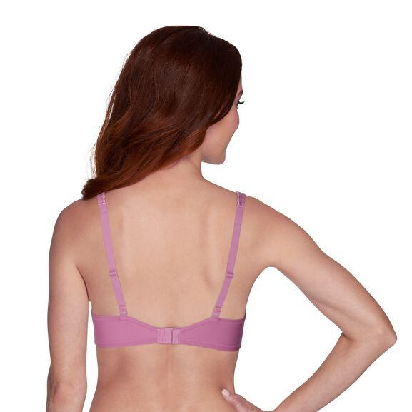 Body Caress Full Coverage Underwire Bra Rosy Glow