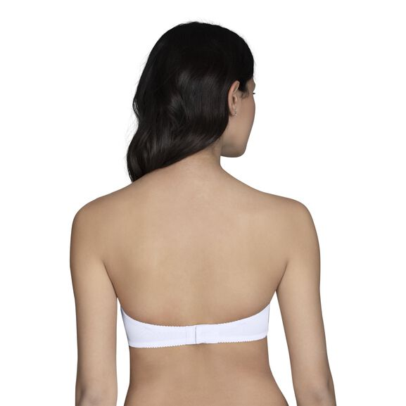Gel Touch Strapless Pushup White
