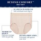 Beyond Comfort Seamless Waistband - Brief Midnight Black