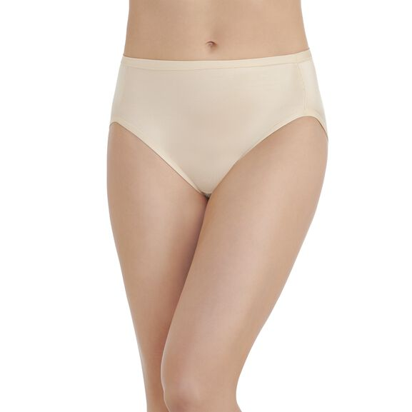 Body Caress Hi-Cut Panty Damask Neutral