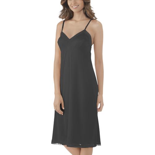 d61037cd83a Rosette Lace™ Full Slip Midnight Black ...