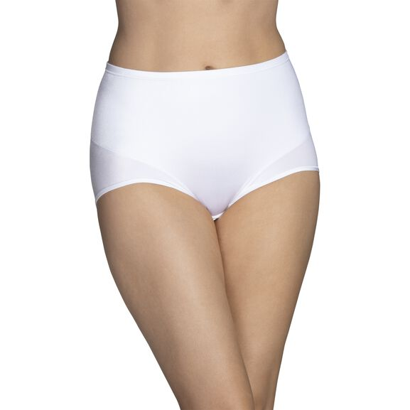 Smoothing Comfort™ 360° Brief Panty Star White
