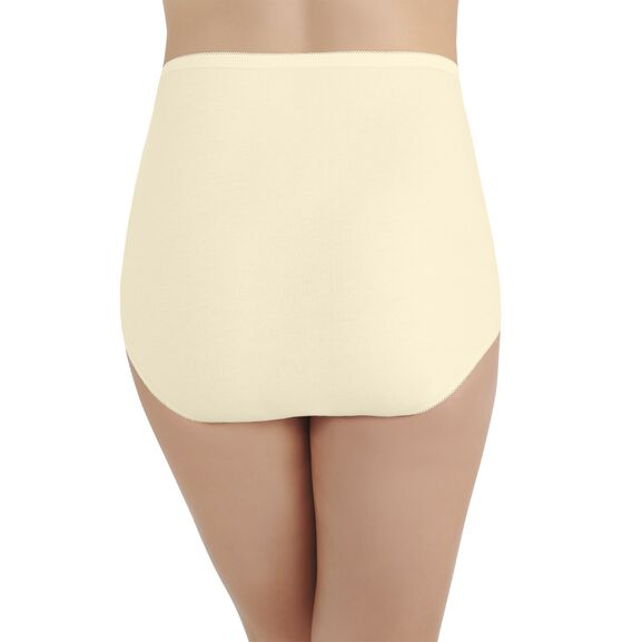 Perfectly Yours Tailored Cotton Full Brief Panty Candleglow