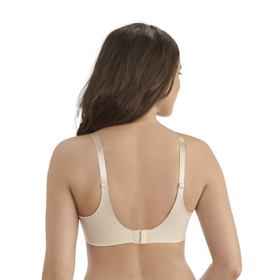 Beauty Back® Full Coverage Wirefree Bra Damask Neutral