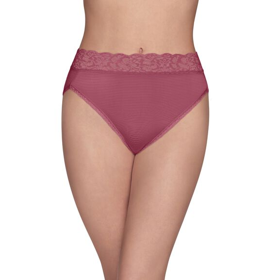 Flattering Lace Hi-Cut Panty Lovers Knot