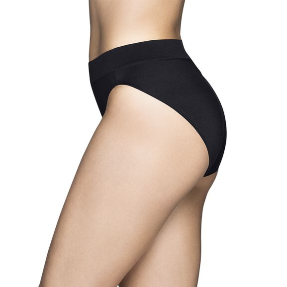 Beyond Comfort Seamless Waistband - Hi-Cut Midnight Black