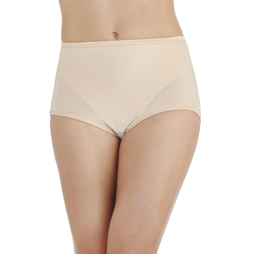 Smoothing Comfort Illumination Brief Rose Beige
