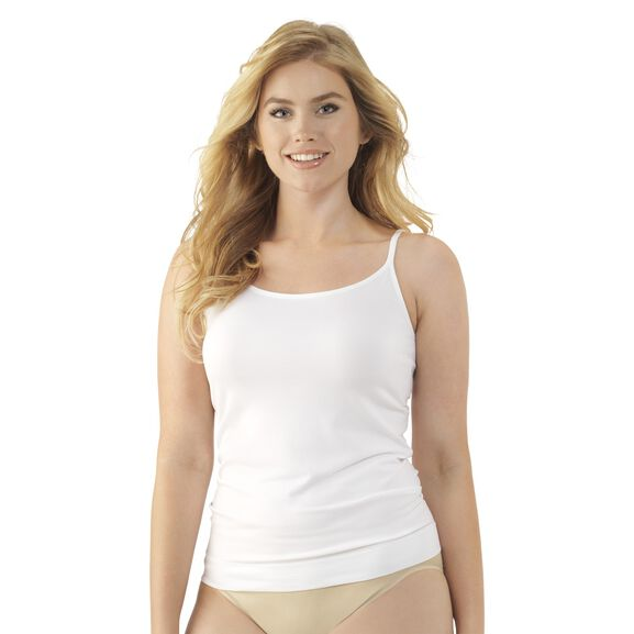 Seamless Tailored Camisole Star White
