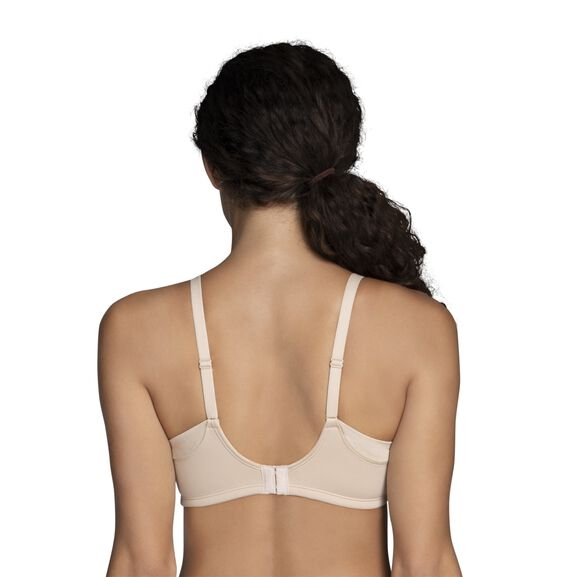 Beauty Back® Full Coverage Wirefree Extended Side and Back Smoother Bra Damask Neutral